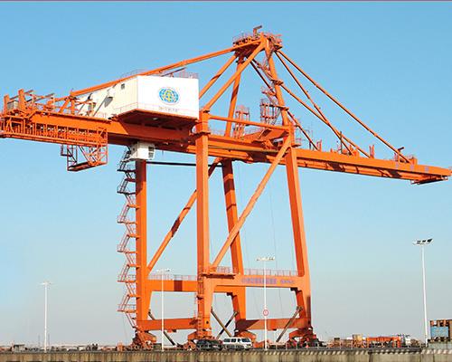 2011丹东港STS5501施工项目