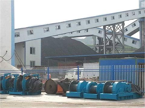 MG300/710WD甘肃华星煤业有限公司施工案例施工项目