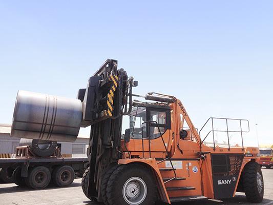 2012沙特达曼SCP350C施工项目