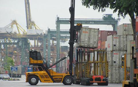 新加坡港SDCY90K7C15-H施工项目