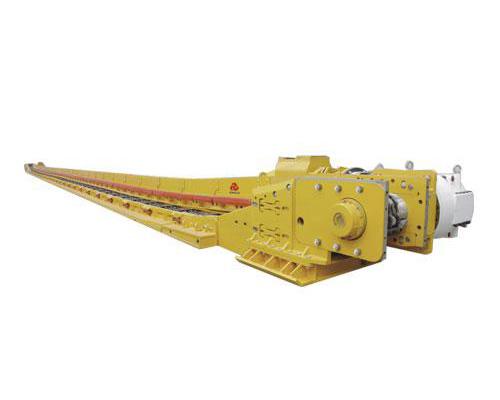 SGZ764/400刮板输送机伟晔矿施工案例施工项目