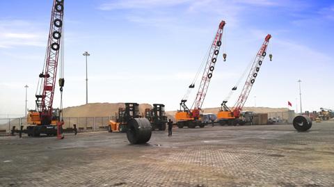 2015年丹东港SQLY25C01施工项目