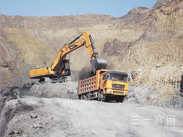 SY365H-9吐鲁番施工案例施工项目