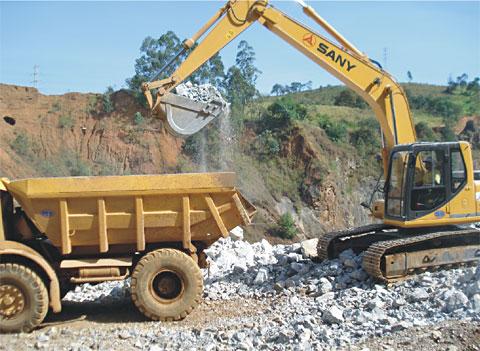 巴西圣保罗铁矿矿山施工施工项目