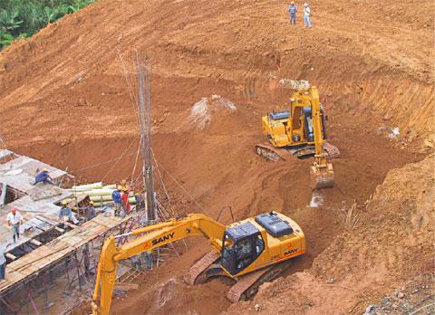 哥伦比亚SABANETA市公寓住宅楼工程施工项目