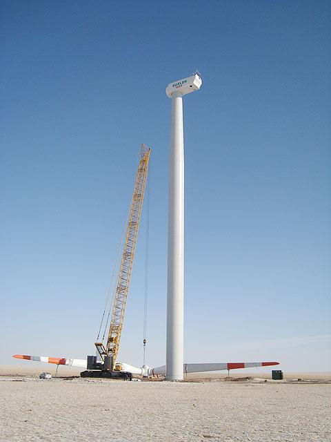 SCC4000在内蒙古锡林浩特灰腾河风场施工施工项目