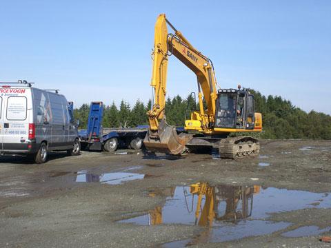 三一设备参与德国汽车驾驶协会adac总部大楼施工工程施工项目