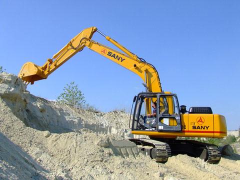三一挖机在匈牙利布达佩斯施工项目