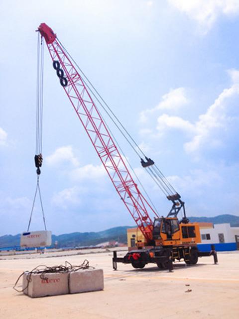 2014年盘锦港SQLY40C施工项目