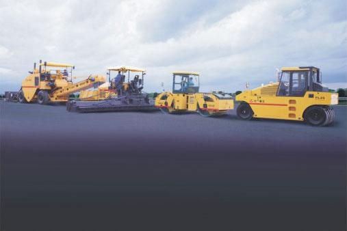 LTU90S摊铺机突破中国公路史高度难度记录——北京六环线工程施工项目