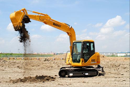 三一挖机参与苏州金鸡湖工程建设施工项目