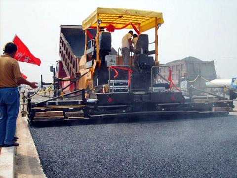 三一铣刨机在山东施工项目