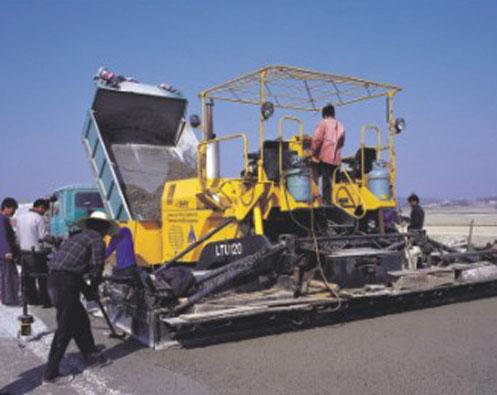 三一摊铺机高难度坡度施工典范——广州白云国际机场施工项目