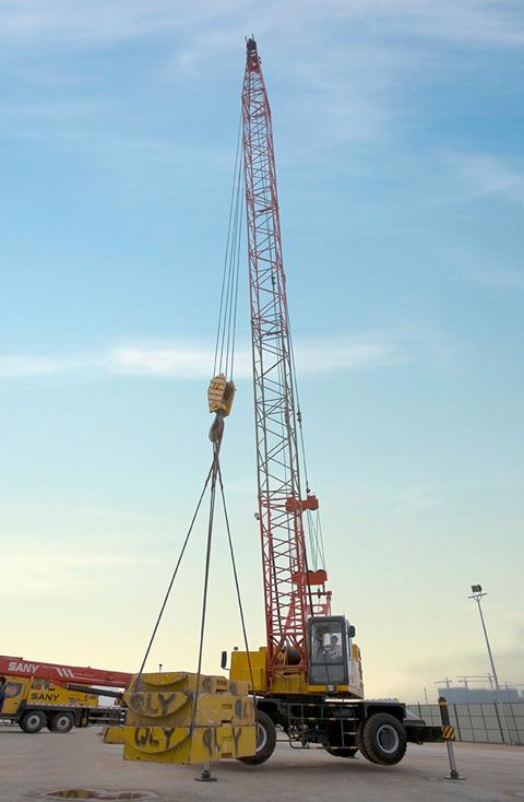 2013南宁港SQLY35施工项目