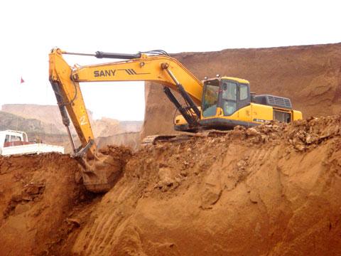 安家岭煤矿施工现场施工项目