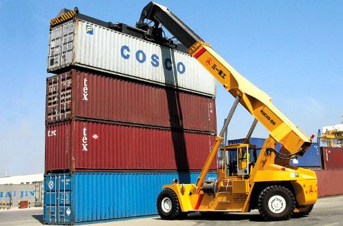 福州港集装箱现场装卸场景施工项目