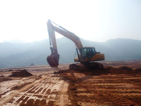 福建泽圣农集团工业园开发区施工项目