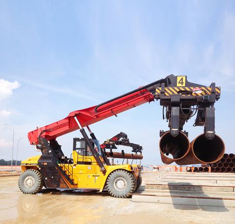 2012年马来西亚关丹SRSC45C施工项目