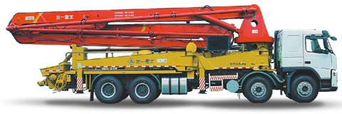 三一泵车迪拜INDEX TOWER施工现场施工项目