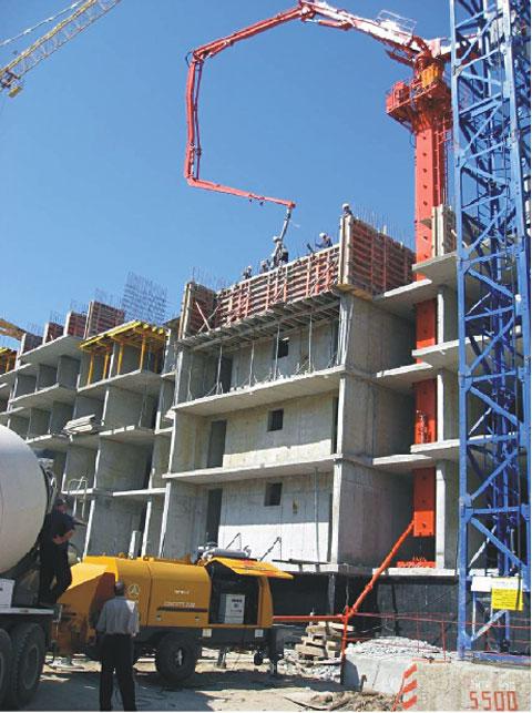 三一旋挖钻机参与哈巴罗夫斯克建设工程建设施工项目