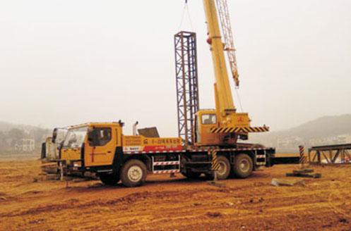 (STC200/STC250)型汽车起重机参与武广高速施工建设施工项目