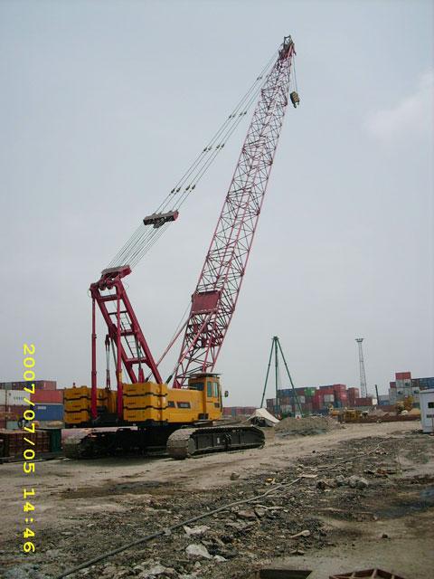 SCC1000在巴基斯坦卡拉奇国际货物港口施工项目