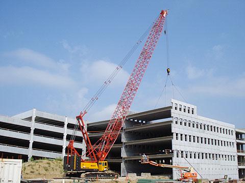 SCC2500在密苏里大学哥伦比亚校区施工项目