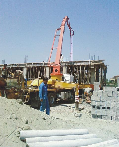 三一泵车参与巴基斯坦伊斯兰堡市项目建设施工项目