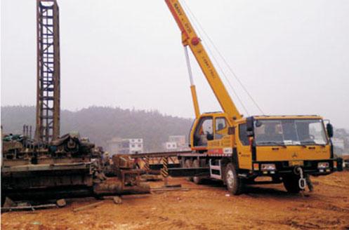 三一汽车起重机参与株洲火电厂施工建设施工项目
