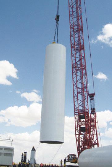 SCC5000WE内蒙乌拉特后旗海力素风电施工现场施工项目