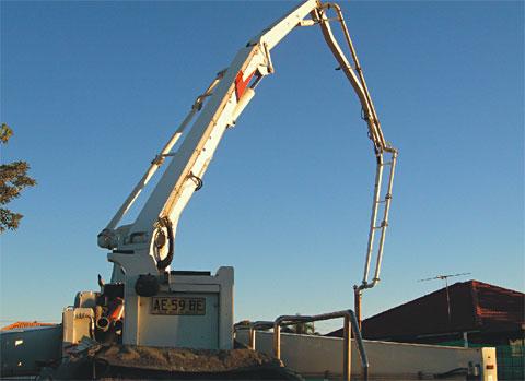 三一SY5310-THB42设备助力澳大利亚市政工程施工项目