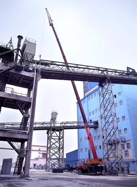 三一(SAC2200)参与新疆东方希望集团项目吊装施工项目