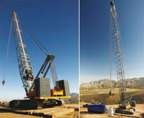 SCC8300美国加州某风电场施工现场施工项目