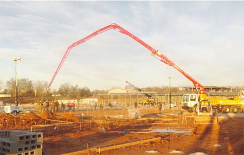 SY5253-37参与Hall郡中学建设工程项目施工项目