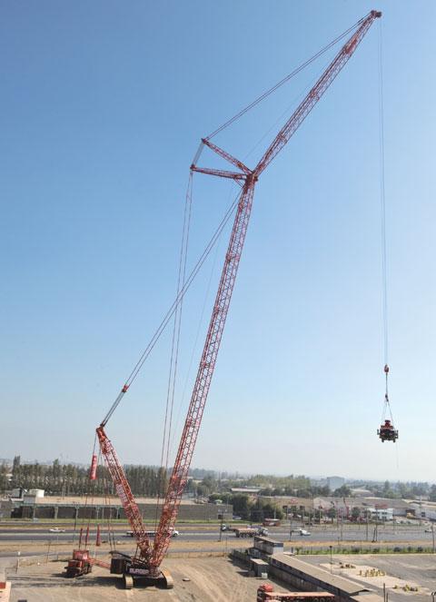 SCC4000智利*8983都圣地亚哥施工现场施工项目