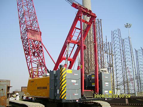 SCC1000在印度N.E.C工地建电厂施工项目