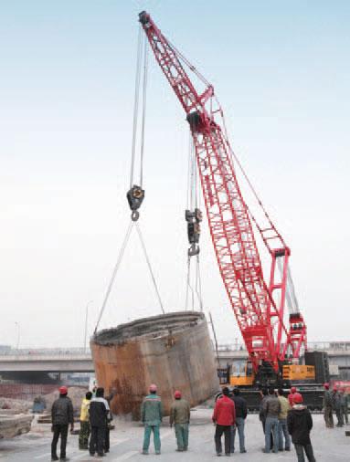 SCC2500C北京地铁10号线施工现场施工项目