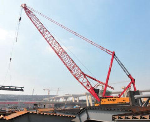 SCC2500深圳北站(龙华火车站)施工现场施工项目