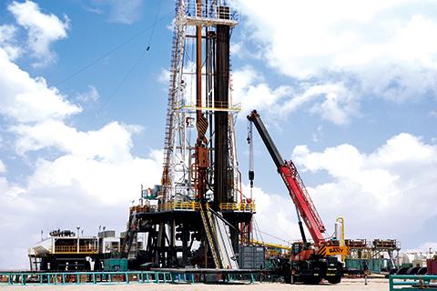 三一SRC550H参与阿联酋Habshan石油钻井工程施工项目