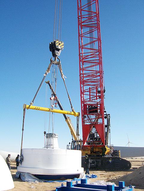 SCC2800WE在内蒙古锡林郭勒盟京能赛汉塔拉风电场施工项目