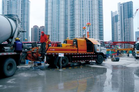 三一拖泵决战世界上断面最大海底隧道——厦门翔安海底隧道工程施工项目
