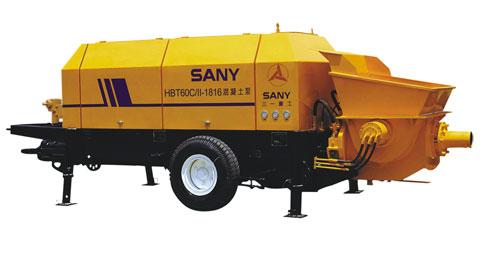 三一HBT60C/Ⅱ-1816泵送设备参与海南海口世纪大桥工程施工项目