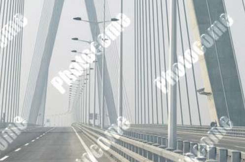 三一设备在江苏润扬长江大桥的混凝土泵送施工案例施工项目