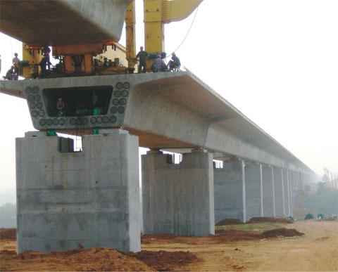 40台三一设备奋战河南——郑西铁路工程施工项目