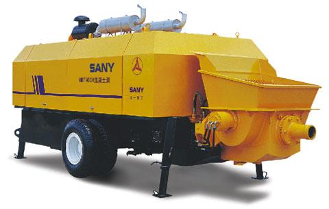 三一HBT90G混凝土泵打造香港国际金融中心施工项目
