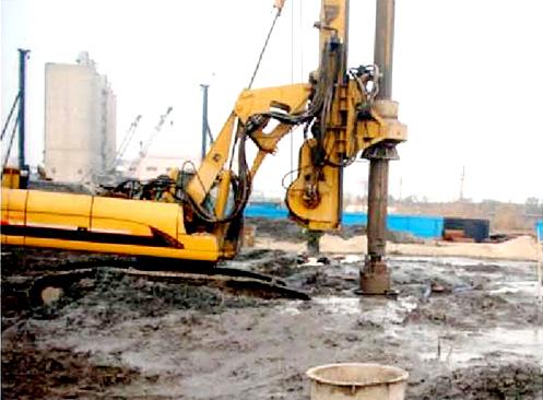 郑石高速双沐河大桥漂石、卵石施工工法施工项目