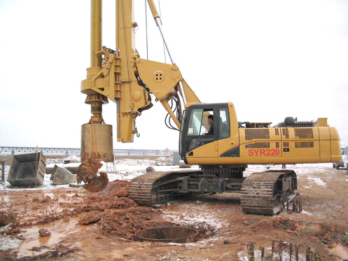 国内*8983批进驻青藏铁路施工的旋挖钻机施工项目