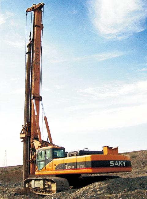 奎北铁路三一旋挖钻机平均成孔时间为单孔3小时施工项目