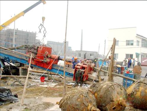 三一旋挖钻埃及显能施工项目