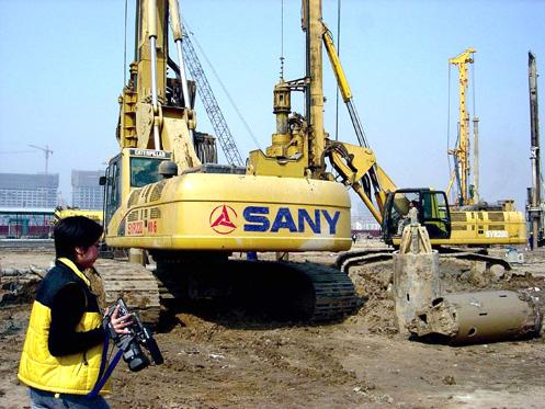 国家体育场基础工程共需基础桩1800余根施工项目